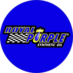 Circular Royal Purple Decal / Sticker 07