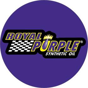 Circular Royal Purple Decal / Sticker 11