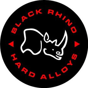 Black Rhino Hard Alloys Decal / Sticker 08