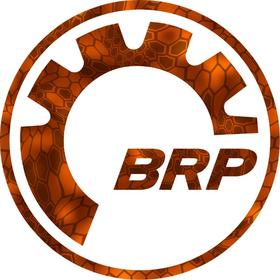 Orange Camo Kryptek Inferno BRP Decal / Sticker 12
