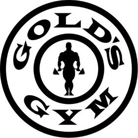 Gold's Gym Decal / Sticker 05