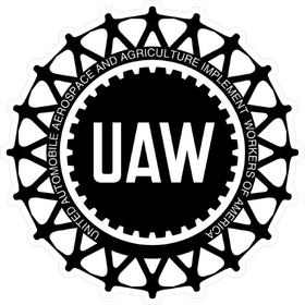 UAW Decal / Sticker 01