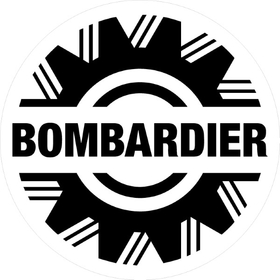 Bombardier Decal / Sticker 14