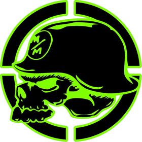 Metal Mulisha Skull Decal / Sticker 13