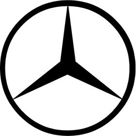 Mercedes Logo Decal / Sticker