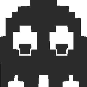 PacMan Ghost decal / sticker