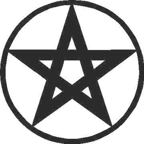 Pentagram Decal / Sticker