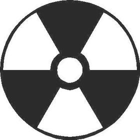 Radiation Decal / Sticker 02