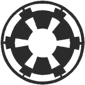 Star Wars Imperial Logo Decal / Sticker