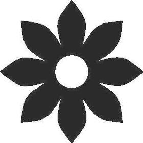 Sunflower Decal / Sticker 01