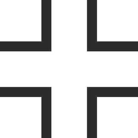T2 Cross Decal / Sticker