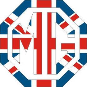 British Flag MG Decal / Sticker