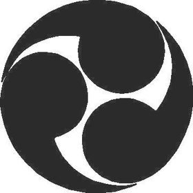 Mitsudomoe Decal / Sticker 01