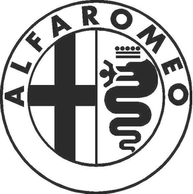Alfa Romeo 02 Decal / Sticker