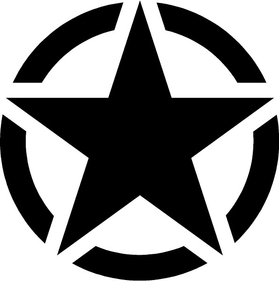 Star Decal / Sticker 10
