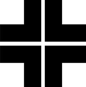 Christian Cross Decal / Sticker 26