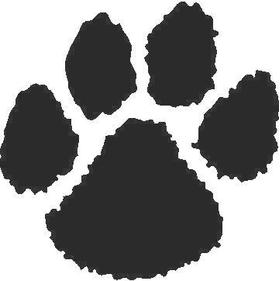 Dog Paw Decal / Sticker 02