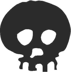 Skull Decal / Sticker 11