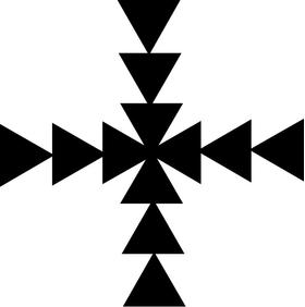 Christian Cross Decal / Sticker 56