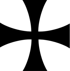 Assassin's Creed Cross Decal / Sticker 02