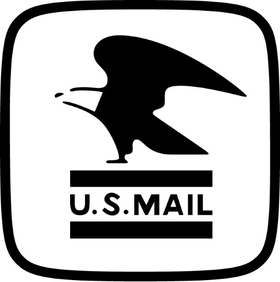 U.S. Mail Decal / Sticker 04