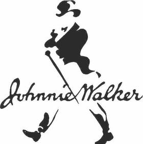 Johnnie Walker Decal / Sticker 01