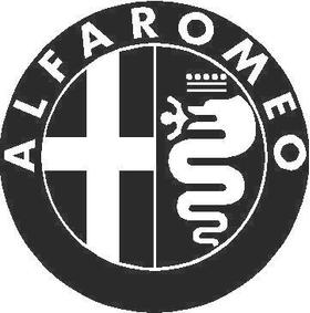 Alfa Romeo 01 Decal / Sticker