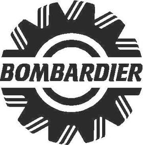 Bombardier Decal / Sticker 02