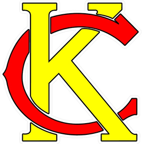 Kansas City Chiefs KC Decal / Sticker 03
