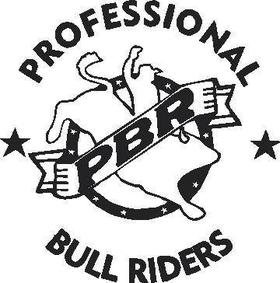 Professional Bull Riders  Decal / Sticker