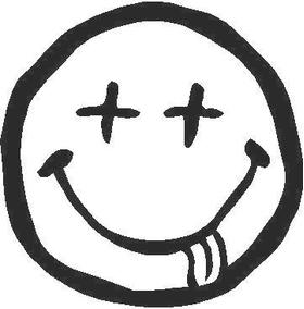 Dead Happy Face Decal / Sticker
