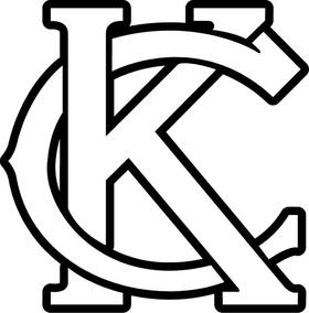 KCMO Kansas City KC Decal / Sticker 02