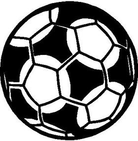 Soccer Ball Decal / Sticker 10