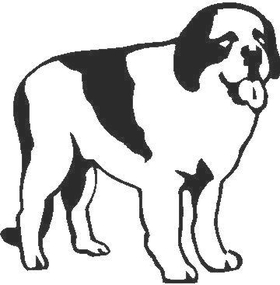 Dog 01 Decal / Sticker