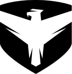 Falcon Shocks Decal / Sticker 03