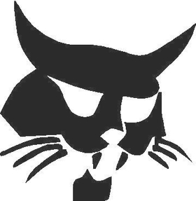 Bobcat Decal / Sticker 01