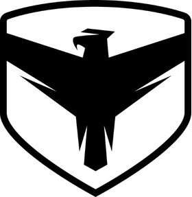 Falcon Shocks Decal / Sticker 02