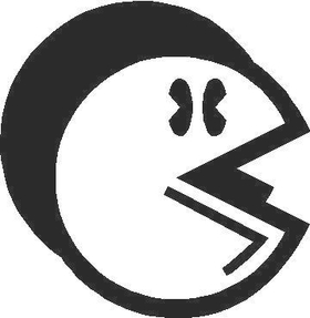 PacMan Decal / Sticker