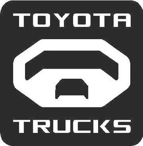 Toyota Trucks Decal / Sticker 03