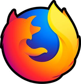 Firefox Decal / Sticker 02