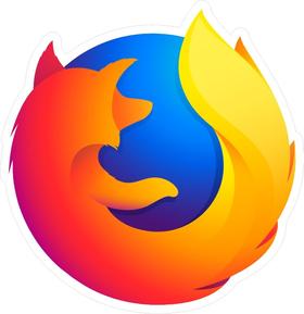 Firefox Decal / Sticker 03