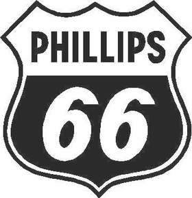 Phillips 66 Decal / Sticker