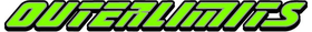 Lime Green Outerlimits Decal / Sticker 07