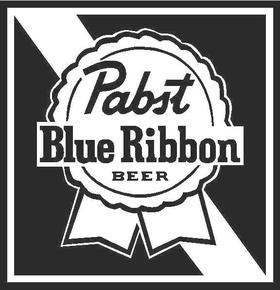 Pabst PBR Decal / Sticker 02