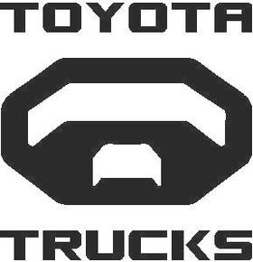 Toyota Trucks Decal / Sticker 04