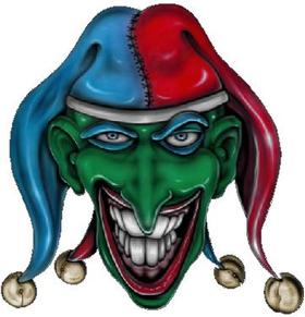 Joker Decal / Sticker 01