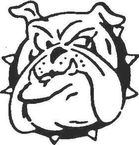BullDog Decal / Sticker 03