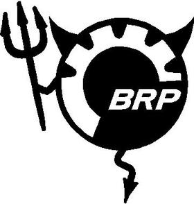BRP Devil Decal / Sticker