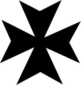 Christian Cross Decal / Sticker 27