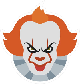 Pennywise The IT Clown Decal / Sticker 04